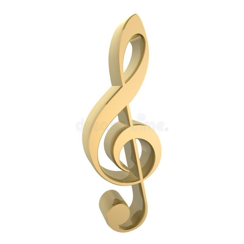 Símbolo de música ilustração royalty free