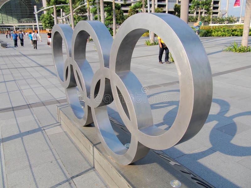 Símbolo de Olimpiadas foto de archivo
