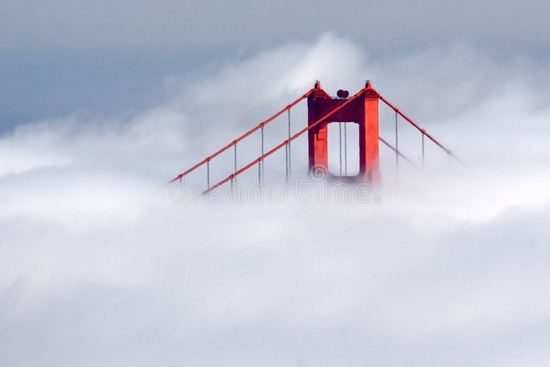 Símbolo de San Francisco imágenes de archivo libres de regalías