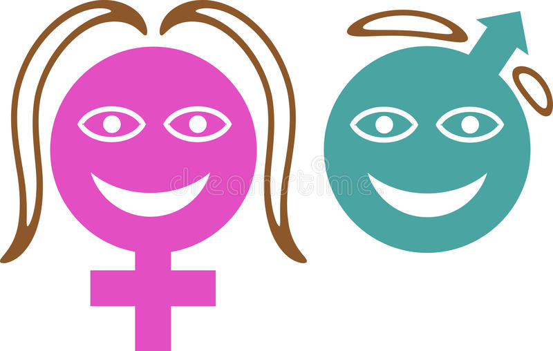 Símbolo de sexo libre illustration
