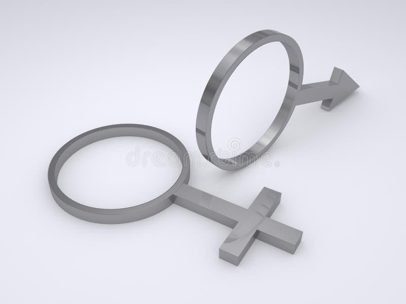 Download Símbolo de sexo stock de ilustración. Ilustración de hombre - 7283377