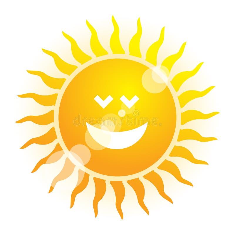Símbolo de Sun del verano libre illustration