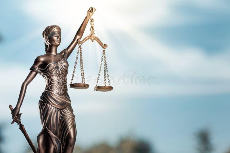 Símbolo de Themi de justiça, opinião do close-up fotos de stock royalty free