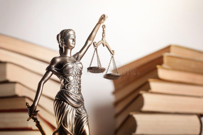 Símbolo de Themi de justiça, opinião do close-up imagens de stock royalty free