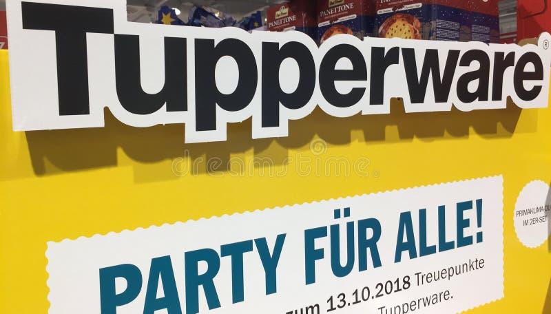 Símbolo de Tupperware fotos de archivo