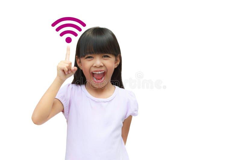 Símbolo de Wi-Fi foto de archivo
