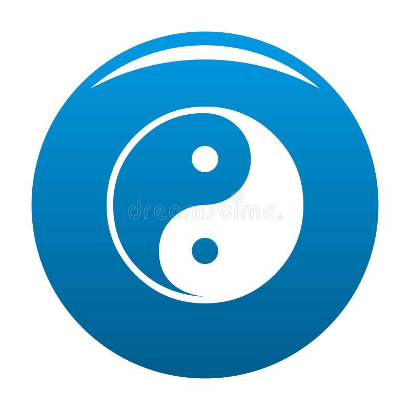 Símbolo de Ying yang da harmonia e do balanço ilustração do vetor