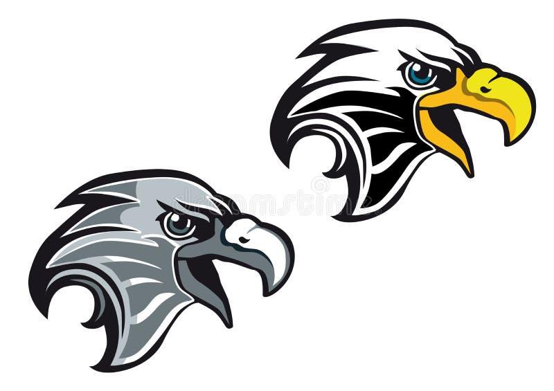 Símbolo del águila de la historieta libre illustration