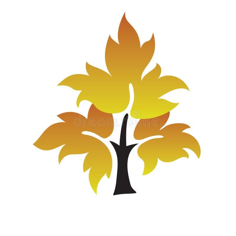 Símbolo del árbol stock de ilustración