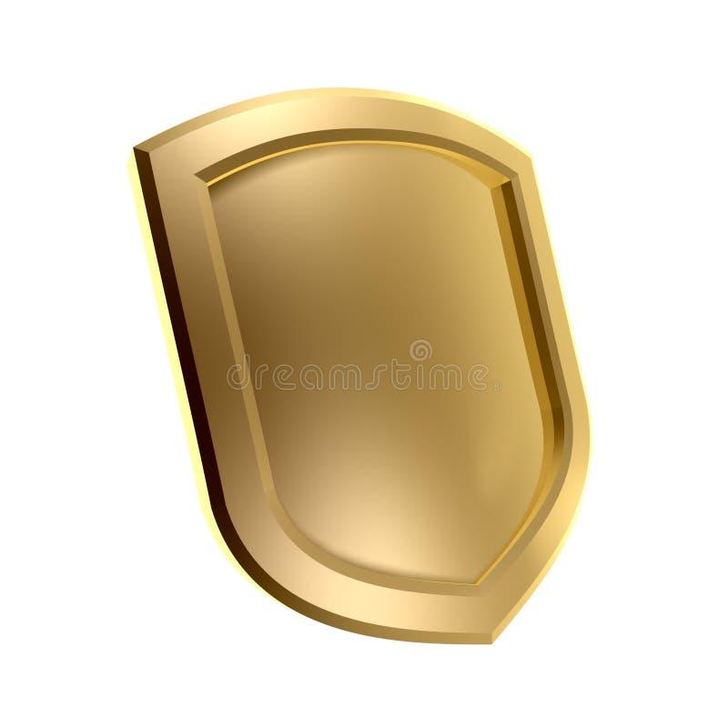 Símbolo del escudo fotos de archivo libres de regalías