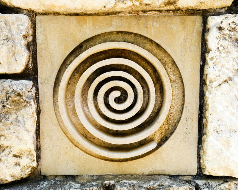 Símbolo del Celtic o de la diosa fotografía de archivo libre de regalías