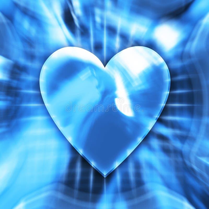 Símbolo del corazón stock de ilustración