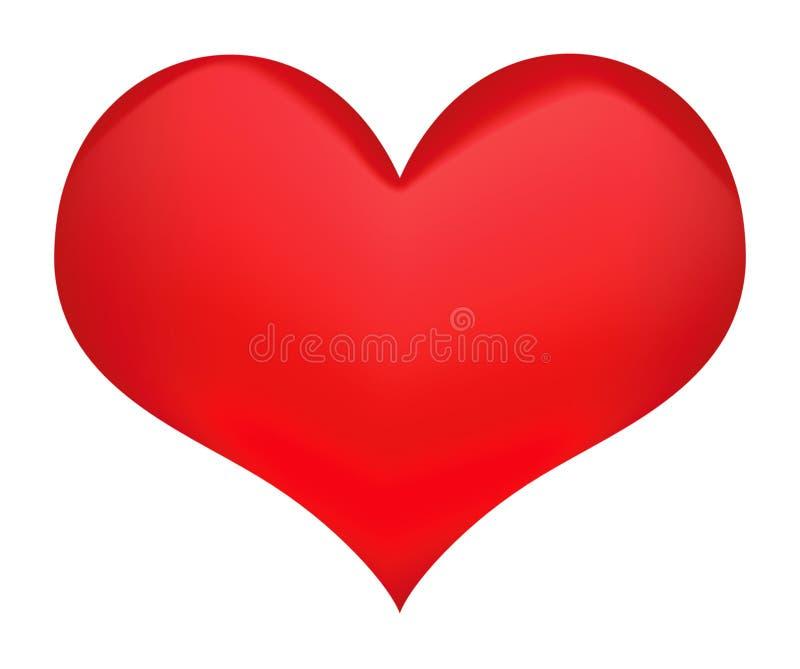 Símbolo del corazón foto de archivo libre de regalías