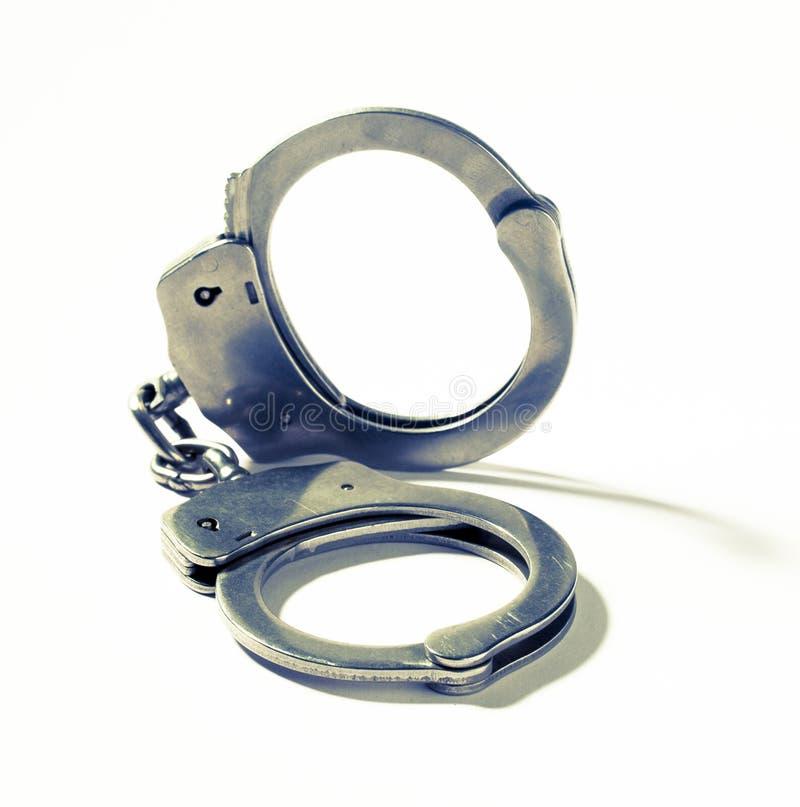 Símbolo del crimen y de la seguridad fotografía de archivo libre de regalías