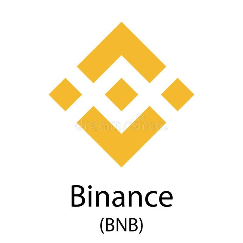 Símbolo del cryptocurrency de Binance libre illustration