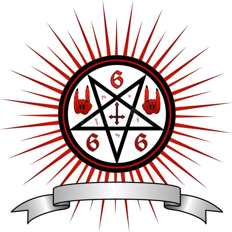 Símbolo del diablo libre illustration