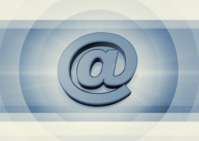 Símbolo del email ilustración del vector
