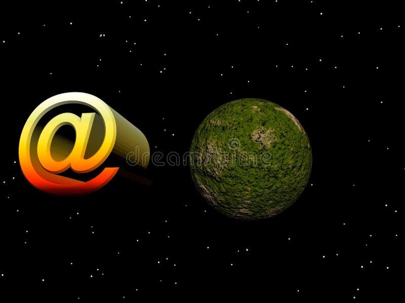 Símbolo del email stock de ilustración