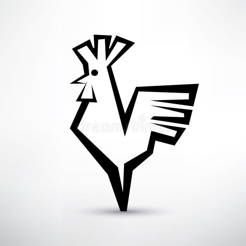 Símbolo del gallo, libre illustration