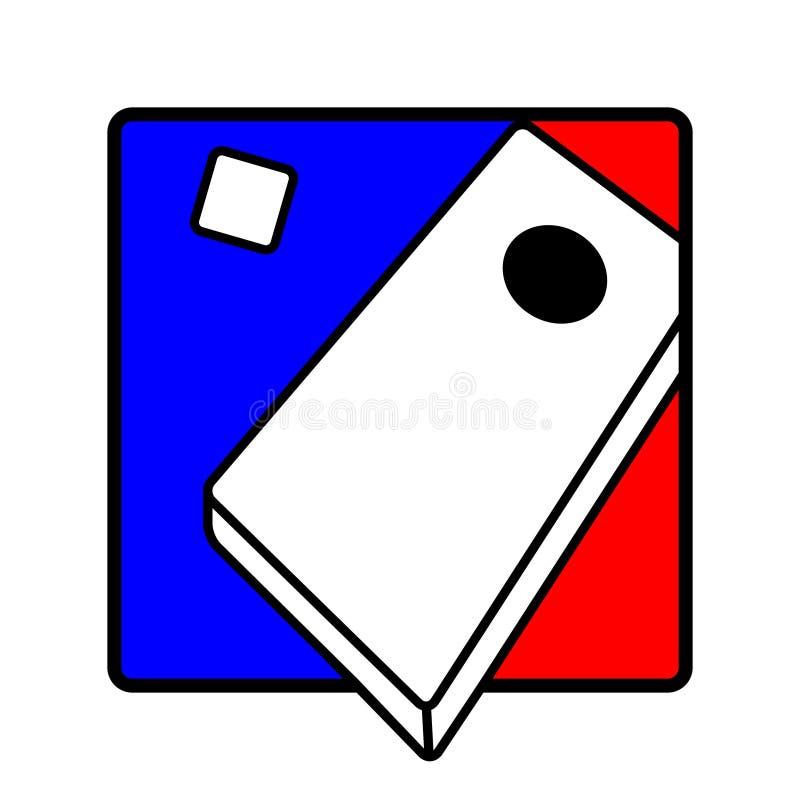 Símbolo del icono del agujero del maíz libre illustration