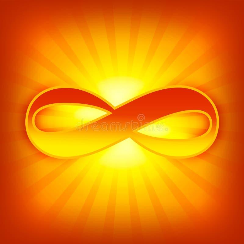 Símbolo del infinito libre illustration