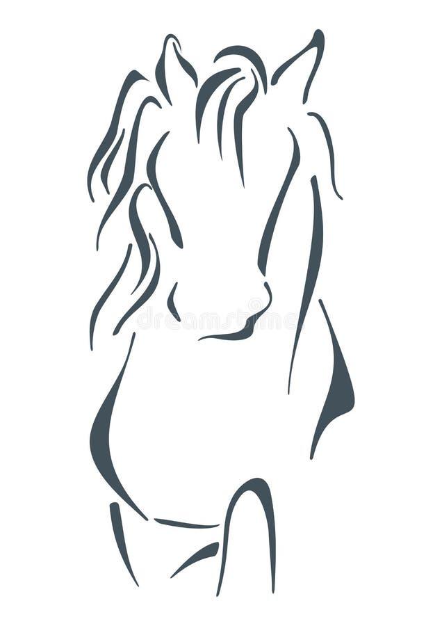 Símbolo del semental foto de archivo libre de regalías