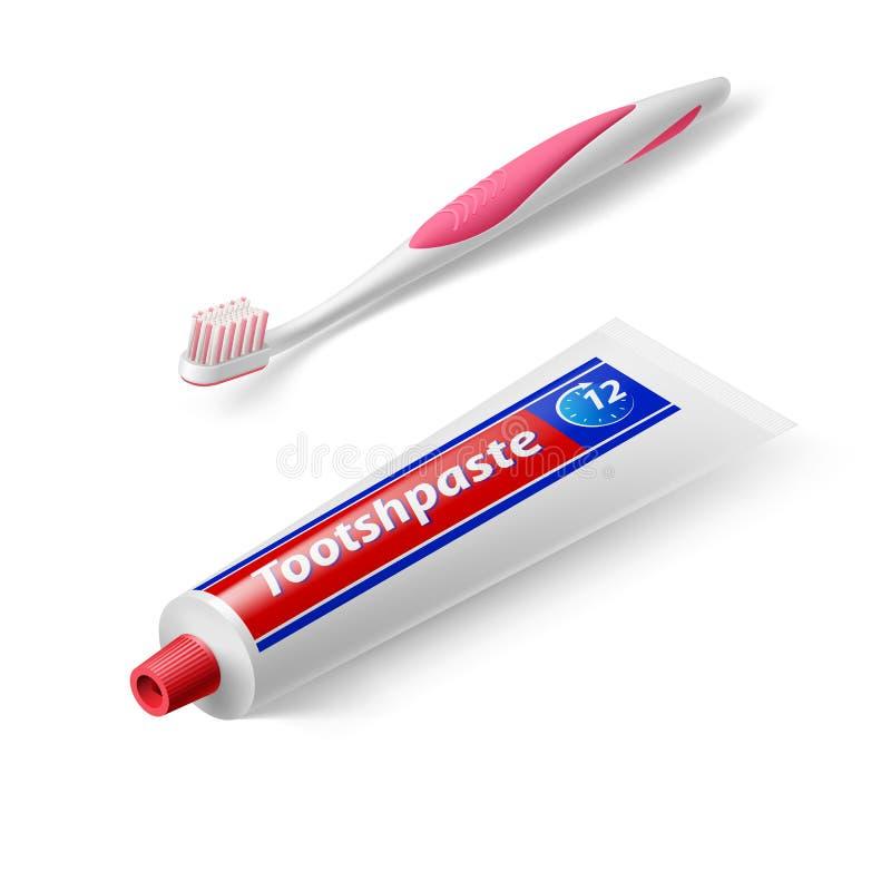 Símbolo dental ilustración del vector