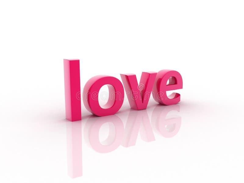 Símbolo do amor ilustração stock