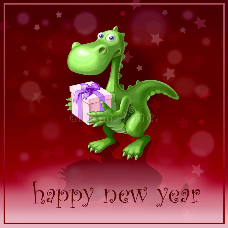 Símbolo do ano ilustração royalty free