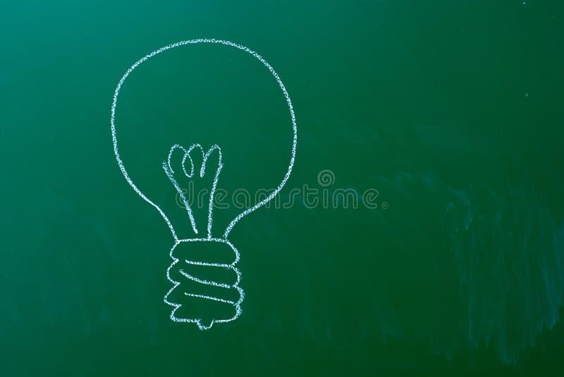 Símbolo do bulbo imagem de stock royalty free