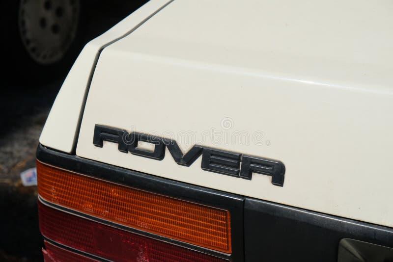 Símbolo do carro de Rover do vintage fotos de stock royalty free
