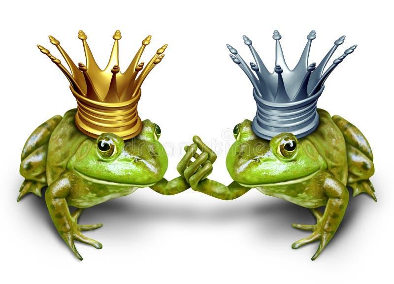 Símbolo do casamento entre homossexuais ilustração stock
