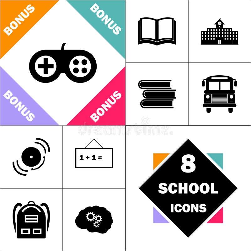 Símbolo do computador do manche ilustração stock