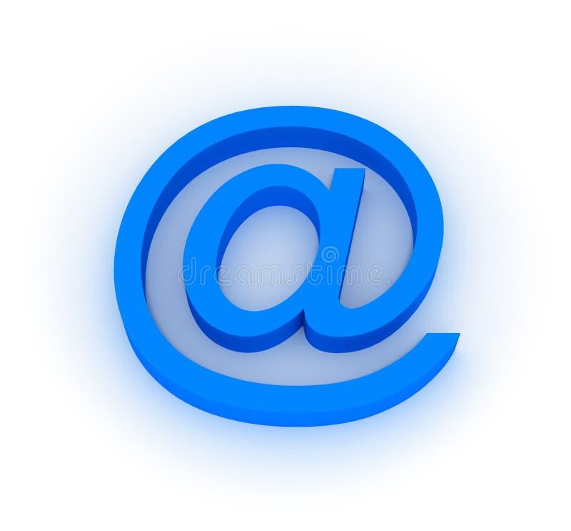 Símbolo do email ilustração do vetor
