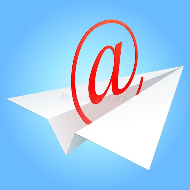 Símbolo do email. ilustração do vetor