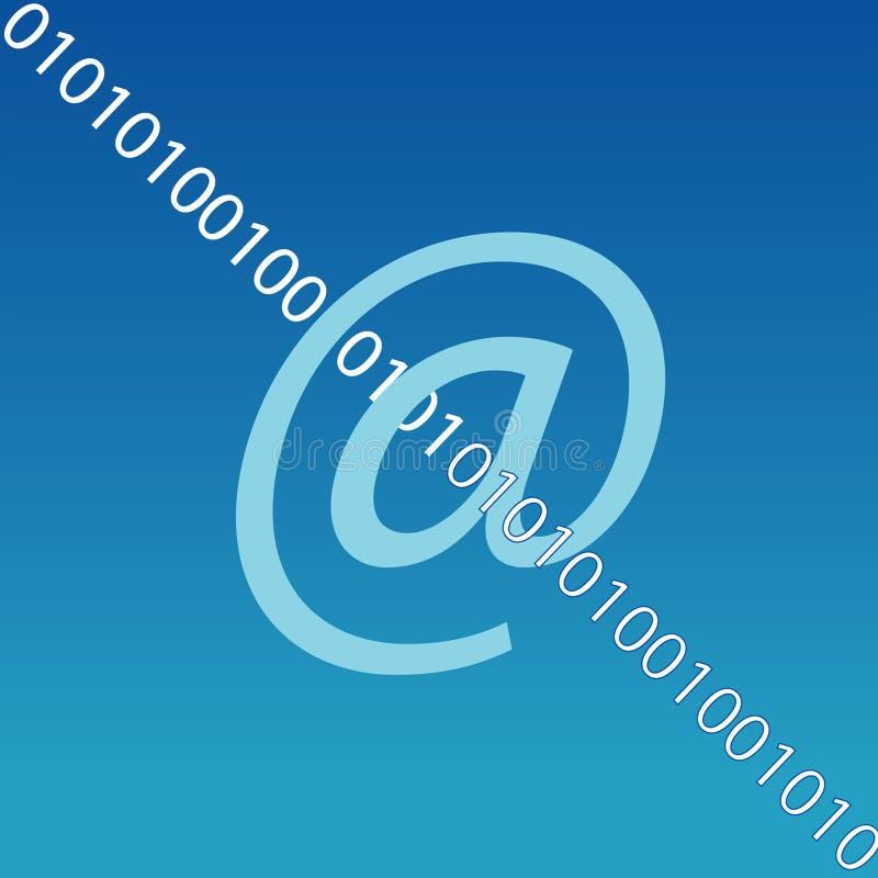 Download Símbolo Do Email De Internet Ilustração Stock - Ilustração de azul, sinais: 58386