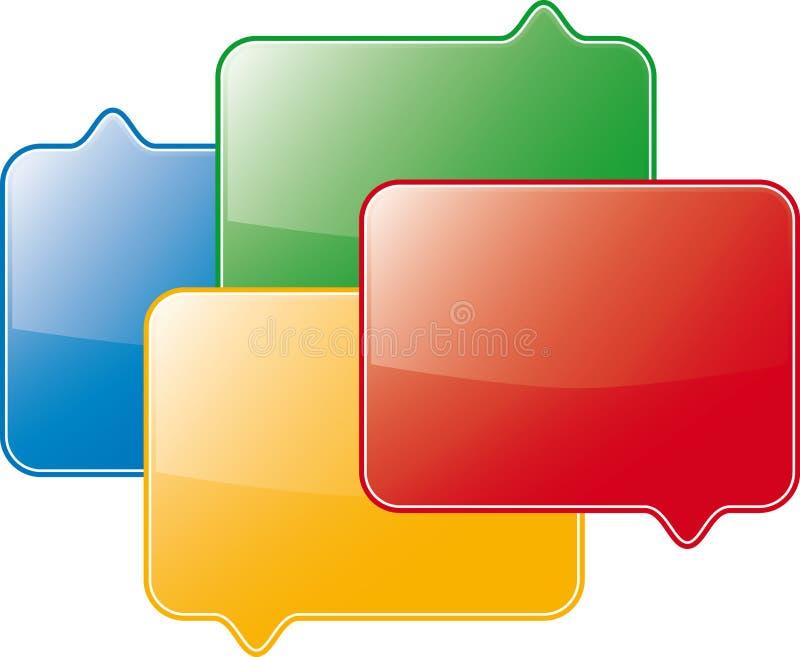 Símbolo do fórum ilustração stock