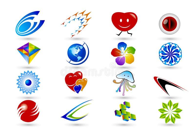 Símbolo do logotipo ilustração do vetor