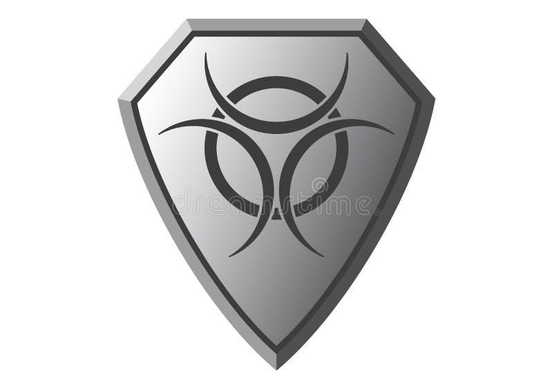 Símbolo do perigo, vetor imagens de stock royalty free