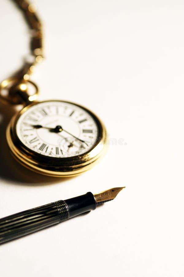 Símbolo do tempo e da comunicação fotos de stock