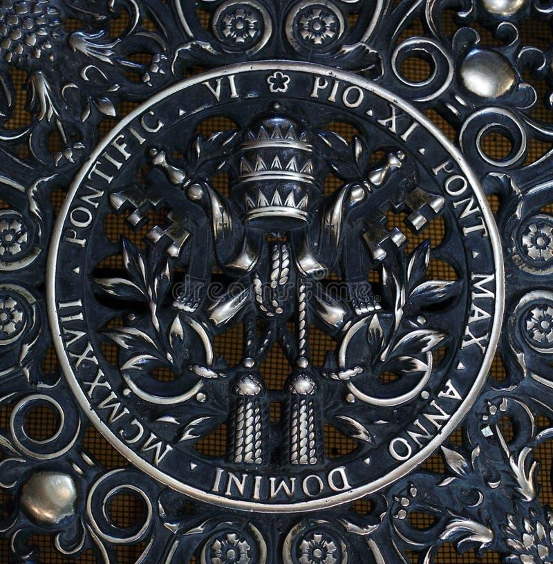 Símbolo do Vaticano fotos de stock