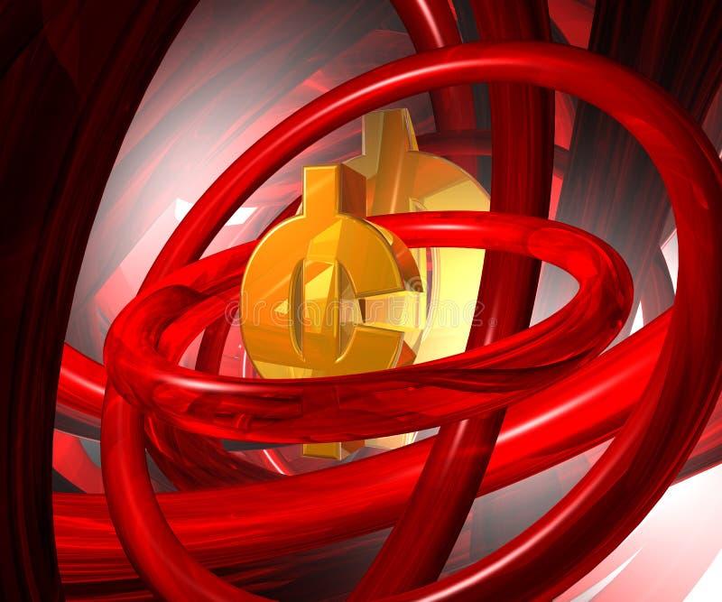 Símbolo do centavo ilustração royalty free