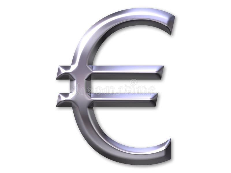 Símbolo euro libre illustration