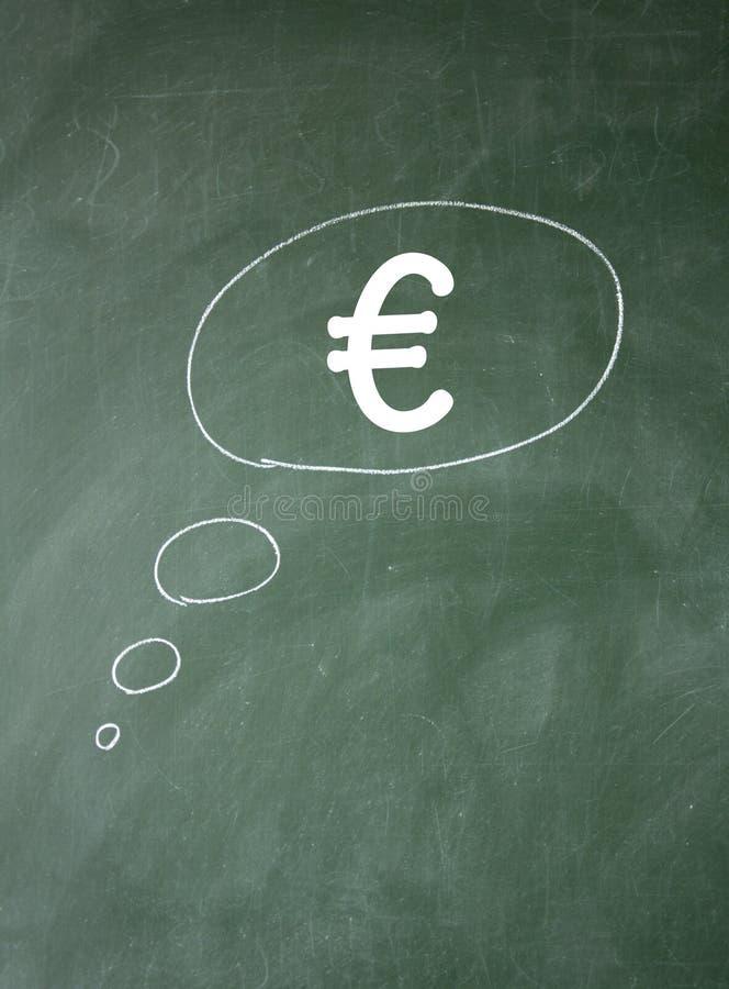 Símbolo Euro Fotografía de archivo