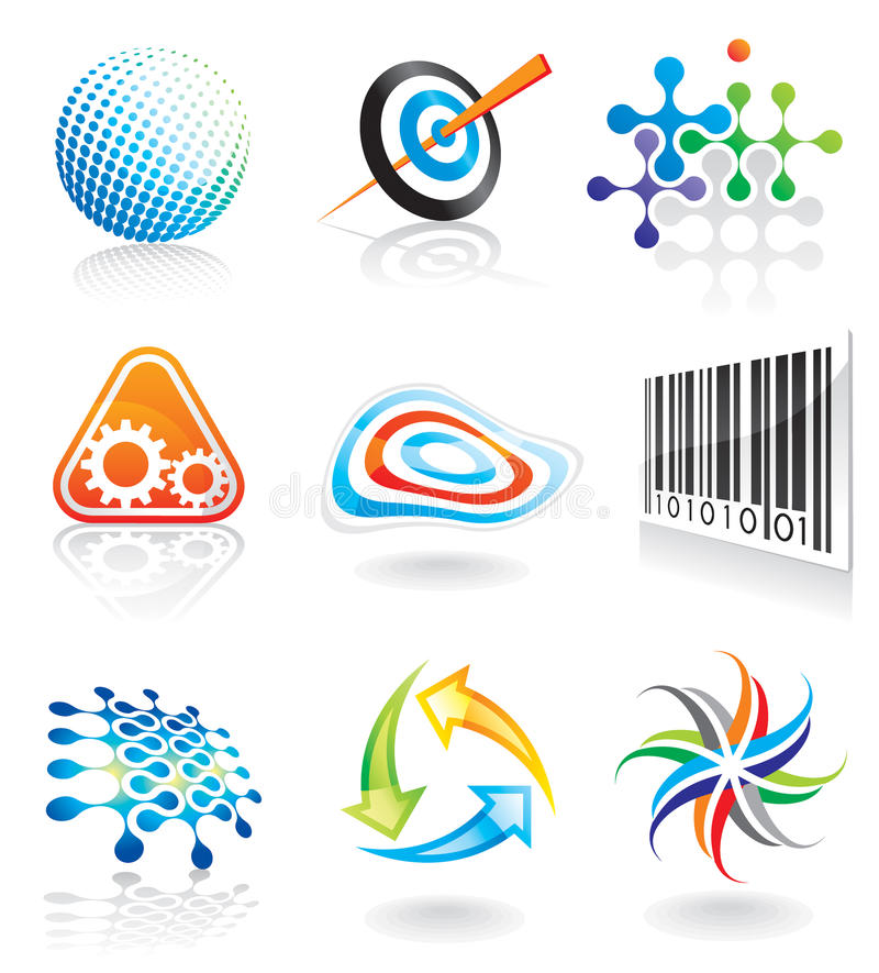 Símbolo gráfico ilustração stock