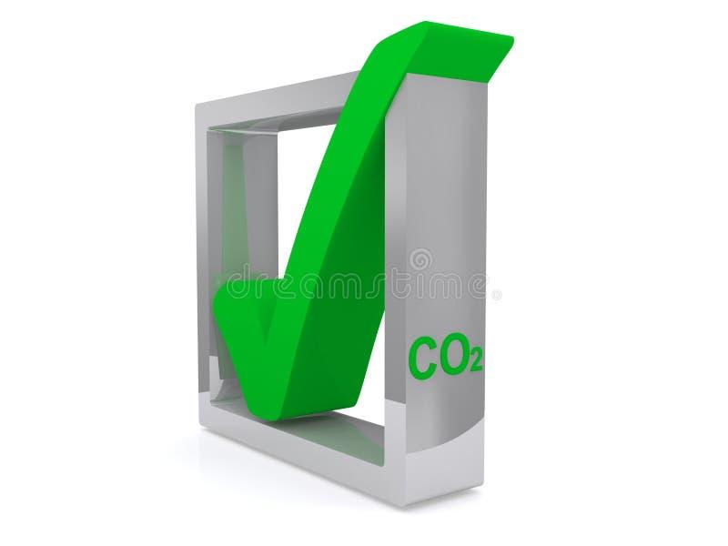 Símbolo grueso verde foto de archivo libre de regalías