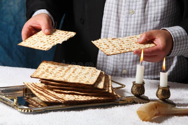 Símbolo judío del día de fiesta, passover judío del passover judío de la comida fotos de archivo