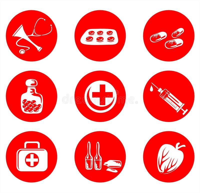 Símbolo médico ilustração royalty free
