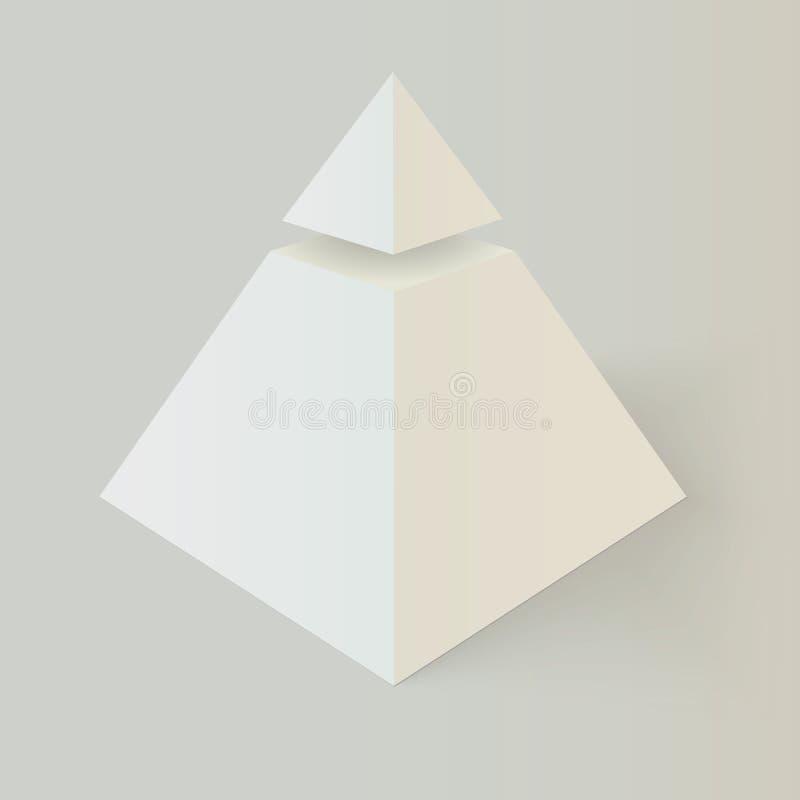 Símbolo masónico de Illuminati ilustración del vector