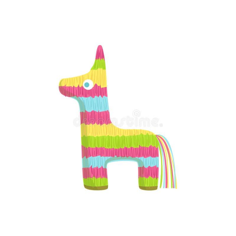 Símbolo mexicano da cultura do Pinata ilustração stock